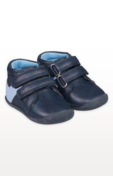 Mothercare | Navy Crawler Shoes