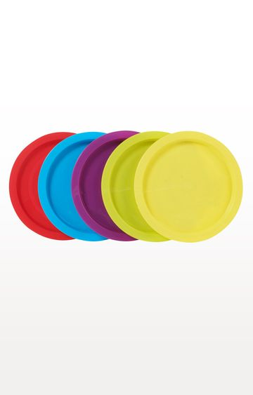 Mothercare | Multicoloured My First Weaning Plates- Pack of 5