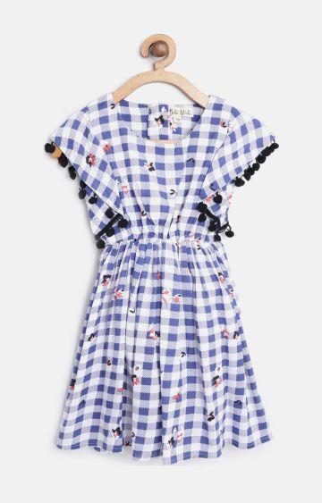 Bellamoda   Blue Checked Dress