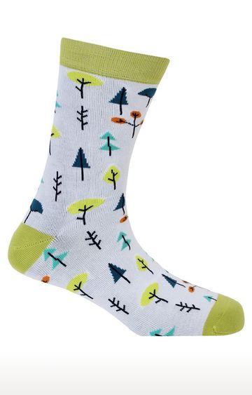 Soxytoes | Eco Warrior White Free Size Cotton Socks