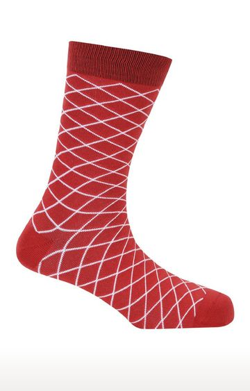 Soxytoes | Don'T Cross Me Red Free Size Cotton Socks