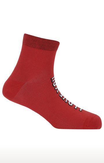 Soxytoes | I Love You 3000 Unisex Red Free Size Cotton Socks