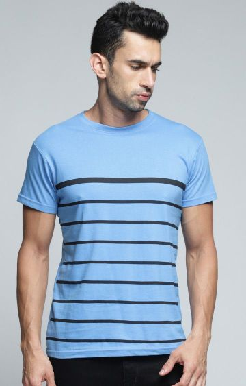 Dillinger | Blue Striped T-Shirt