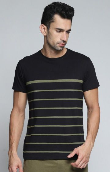 Dillinger | Black Striped T-Shirt