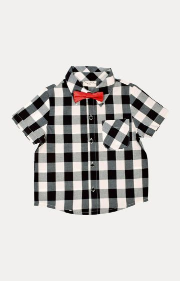 Crayonflakes | Black and White Checked Shirt