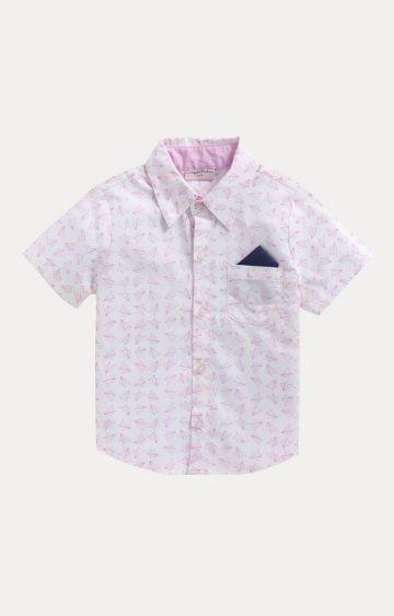 Crayonflakes | White Printed Shirt