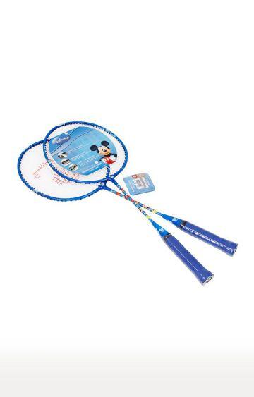 Hamleys | Mesuca Blue Disney Mickey Badminton Rackets with 3/4 Cover