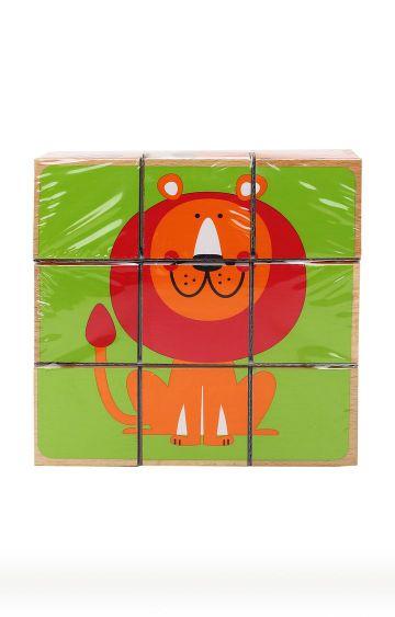 Hamleys | Zoo Animals Block Puzzle