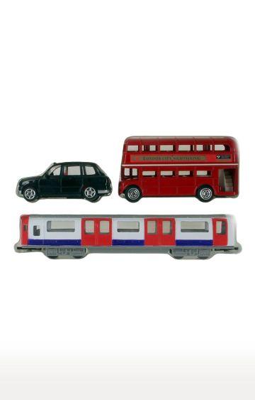 Hamleys | London Trio Pack (Bus/ Taxi/ Tube)