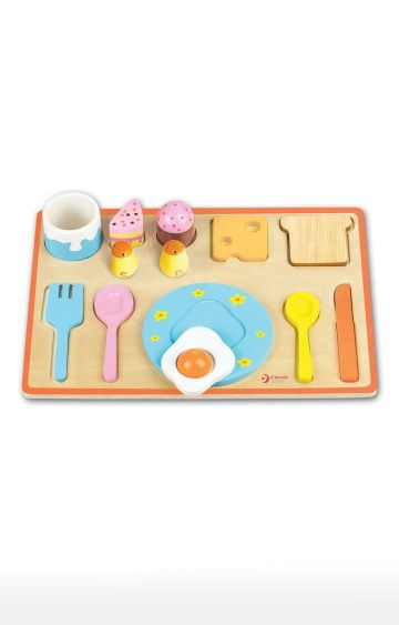 Hamleys | Classic Toys World Breakfast Puzzle