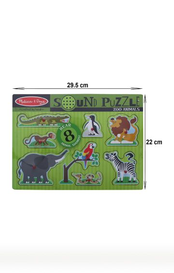 Hamleys | Zoo Animals Sound Puzzle Set