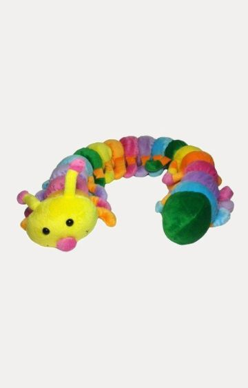 Hamleys | Soft Buddies New Caterpillar Car Rear Tray Table Soft Toy