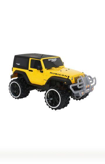 Hamleys | Offroad Yellow Jeep