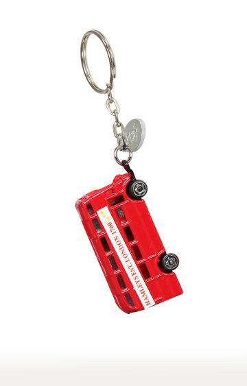 Hamleys   Red Diecast Bus Keyring