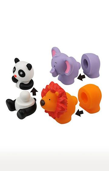 Hamleys | K's Kids Popbo Blocks - Wild Animals
