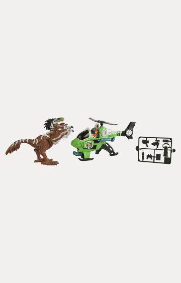Hamleys | Dino Valley Green Small Dinosaur with Vehicle