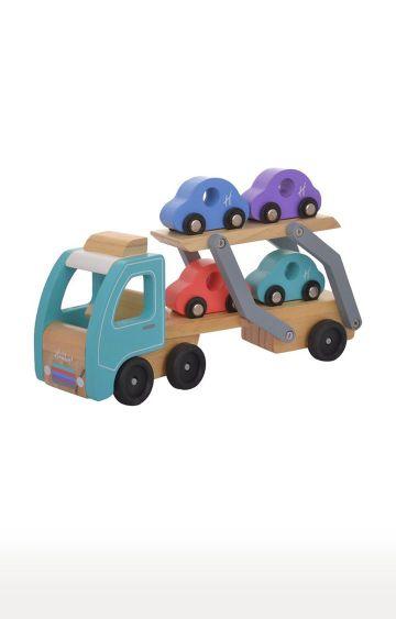 Hamleys | Wooden Car Transporter