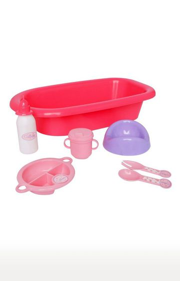 Hamleys | Pink Calinou Bathtime Set