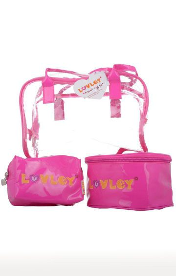 Hamleys | LUVLEY Pink Travel Bag Set