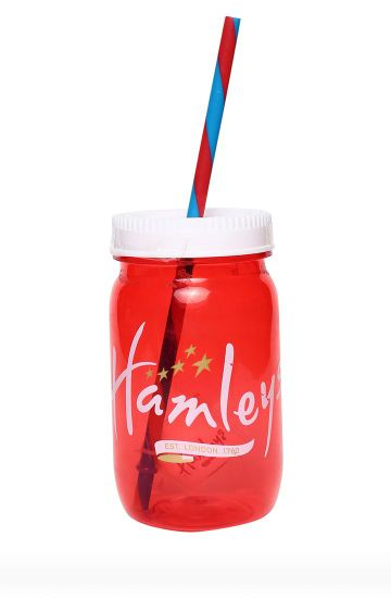 Hamleys | Red Retro Beaker Jar