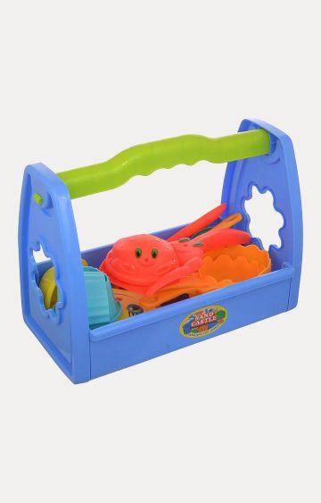 Hamleys | Comdaq Beach Toys in a Box With Handle