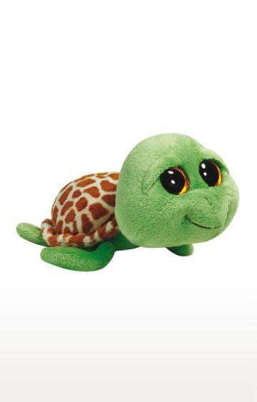 Hamleys | Ty Beanie Boos Zippy Green Turtle Plush