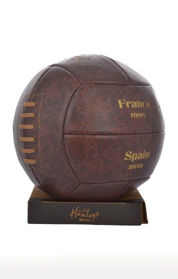 Hamleys | Brown World Cup Champion Single Tone Football