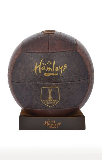 Hamleys | Brown World Cup Champion Three Tone Football