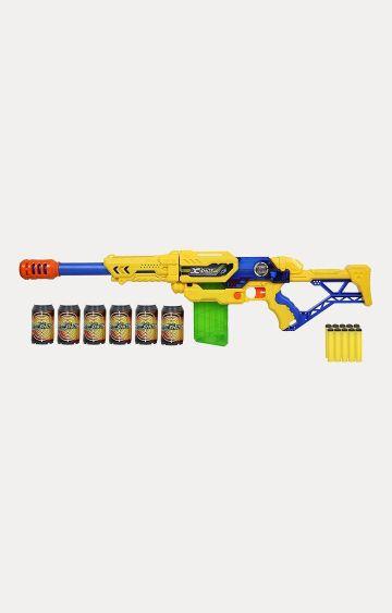 Hamleys | X-SHOT Large Max Attack Clip Blaster Gun