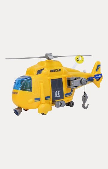 Hamleys | John World Rescue Helicopter with Light and Sound