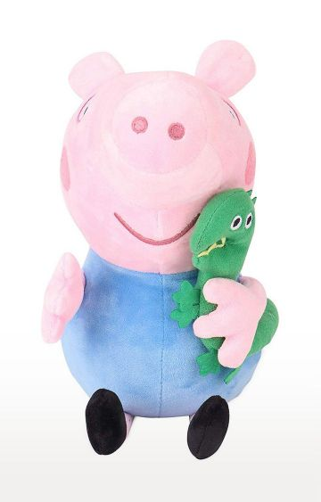 Hamleys | Peppa George Pig with Dinosaur Plush