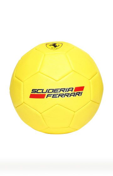 Hamleys | Ferrari Yellow Soccer Ball