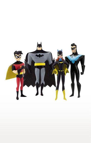 Hamleys | NJ Croce The New Batman Adventures Masked Heroes Bendable Figure Set