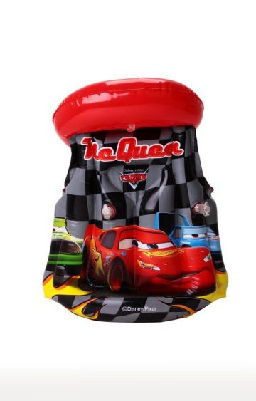 Hamleys | Mesuca Red Disney Car Theme Inflatable Swimming Suit Life Jacket