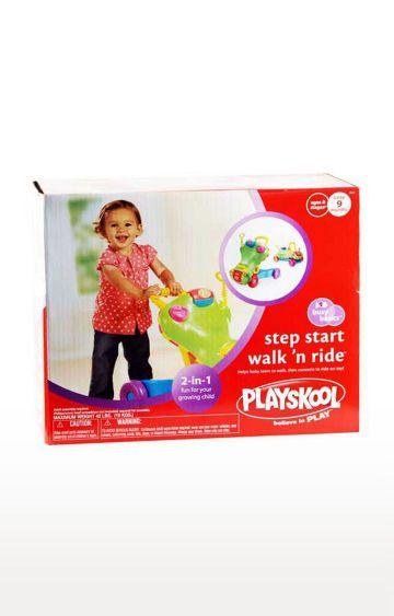 Hamleys | Playskool Step Start Walking and Ride