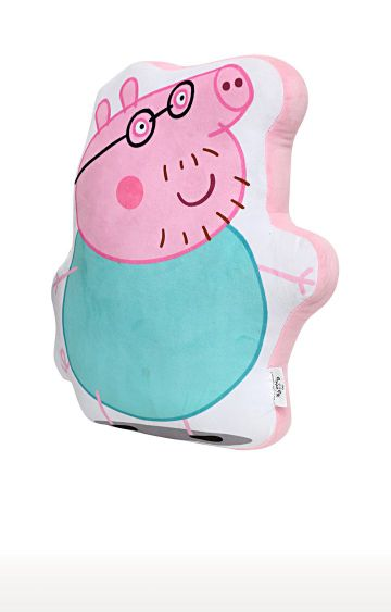 Hamleys | Peppa Daddy Pig Plush Cushion
