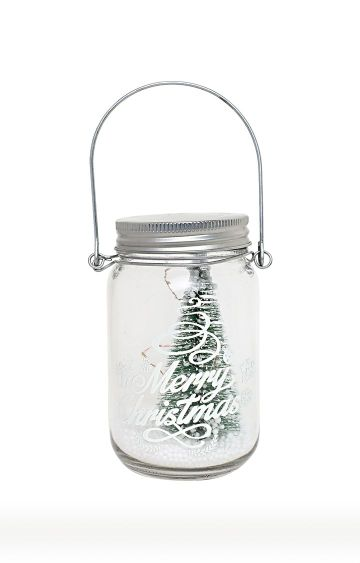 Hamleys | Glass Jar with LED Xmas Tree