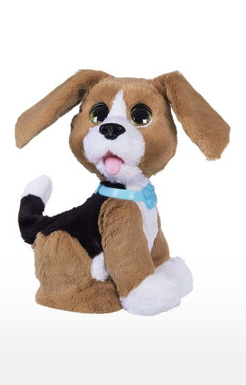Hamleys | Brown Fur Real Friends Chatty Charlie The Barkin' Beagle
