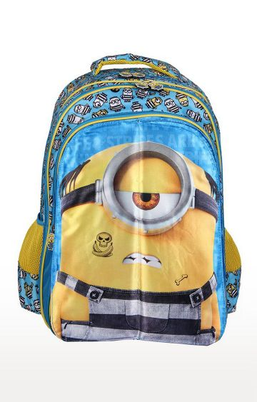 Hamleys | Despicable Me 2 Kids 5 in 1 Flap Minion School Bag