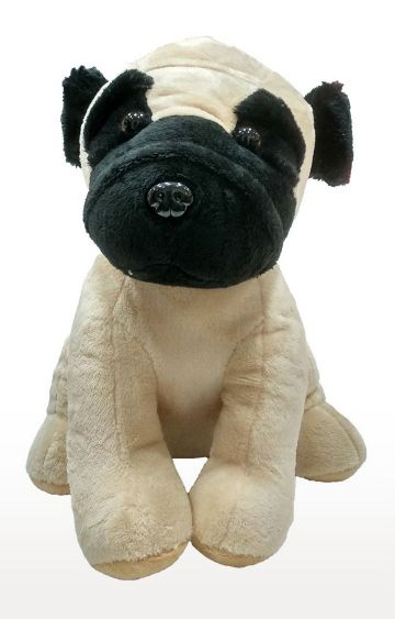 Hamleys   My Baby Excels Pug Dog in Sitting Pose Plush