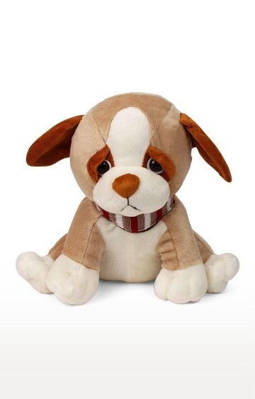 Hamleys   My Baby Excels Dog in Sitting Pose Plush