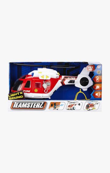Hamleys | Teamsterz TZ Light and Sound Fire Helicopter