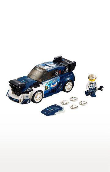 Hamleys | Lego Speed Champions Ford Fiesta M-Sport WRC Building Block Cars