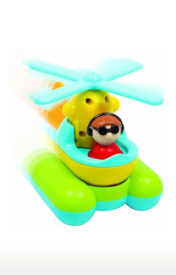 Hamleys | Giggles Build and Play Helicopter