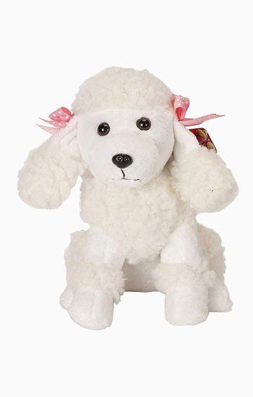 Hamleys | Cuddles Poodle Dog Soft Toy