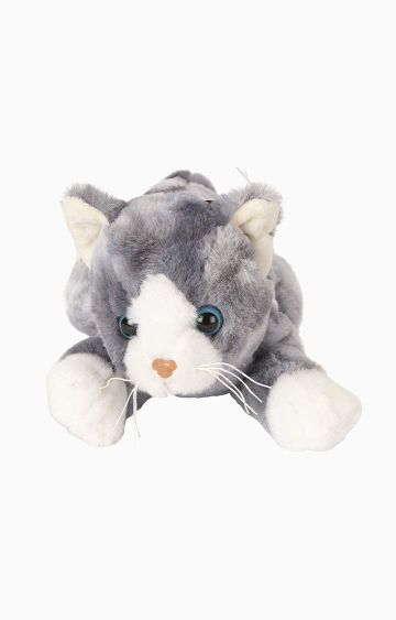 Hamleys | Cuddles Sleeping Cat Soft Toy