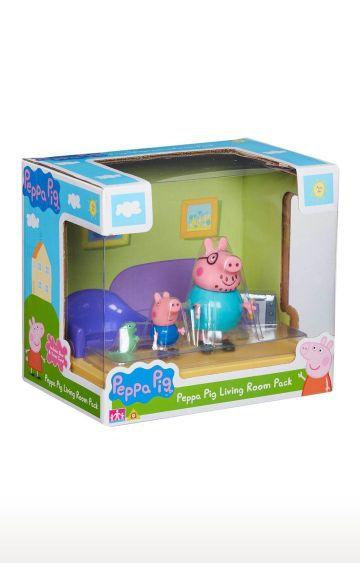 Hamleys   Planet Superheroes Peppa Pig Living Room Playset