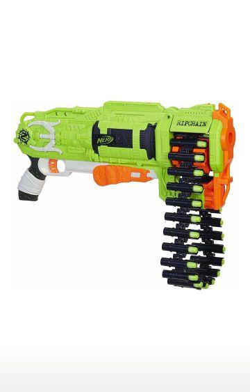 Hamleys   Nerf Zombie Ripchain Combat Blaster