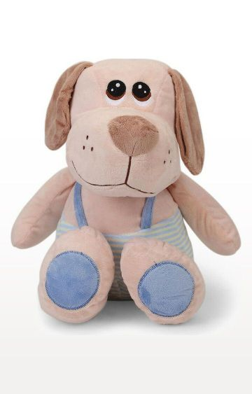 Hamleys | My Baby Excels Dog with Dungaree Plush