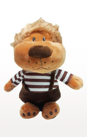 Hamleys | My Baby Excels Cute Lion with Dungaree Plush